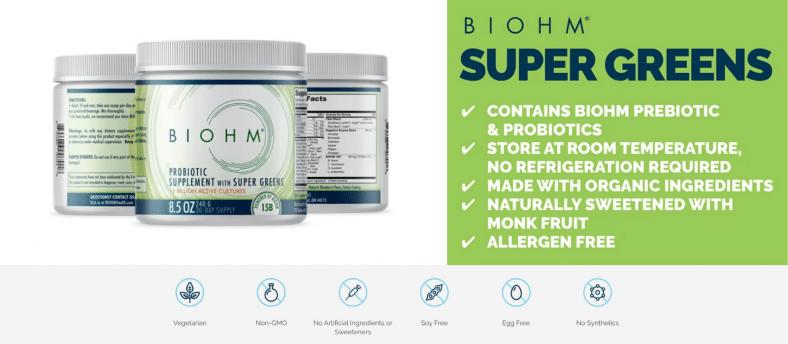 Biohm Probiotic Supplement Review