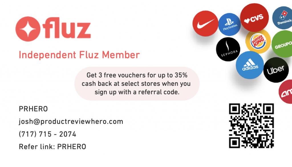 fluz cash back business card