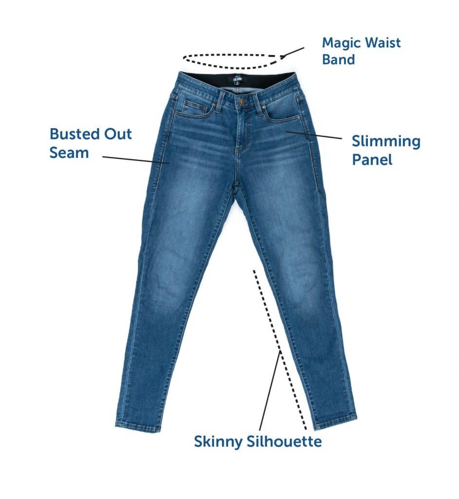LuLaRoe Skinny Denim Details