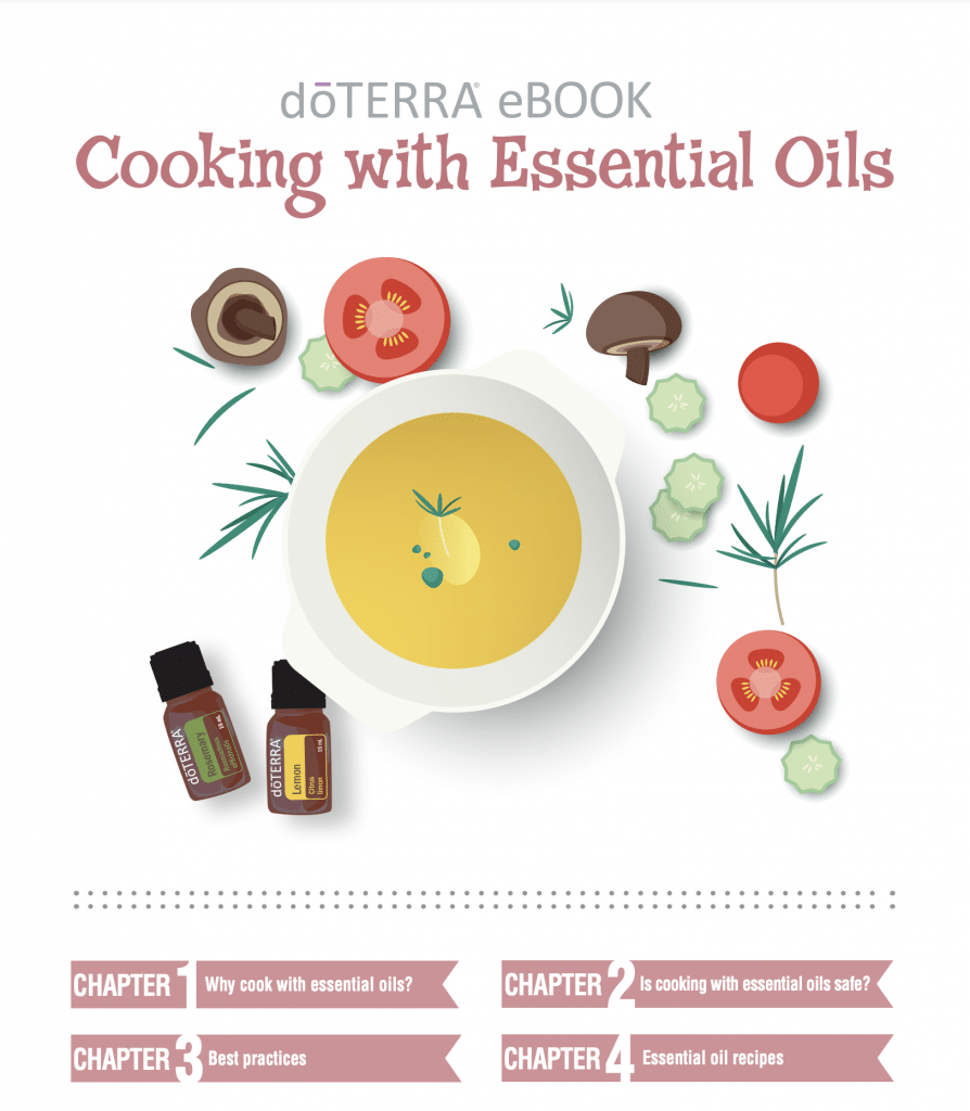 Cooking with essential oil