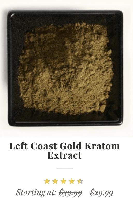 Left Coast Kratom Best Sellers