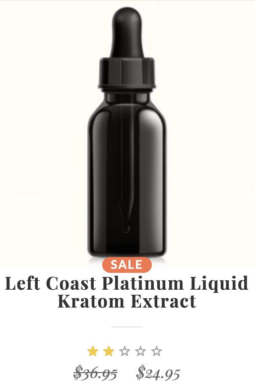 Left Coast Kratom Extract