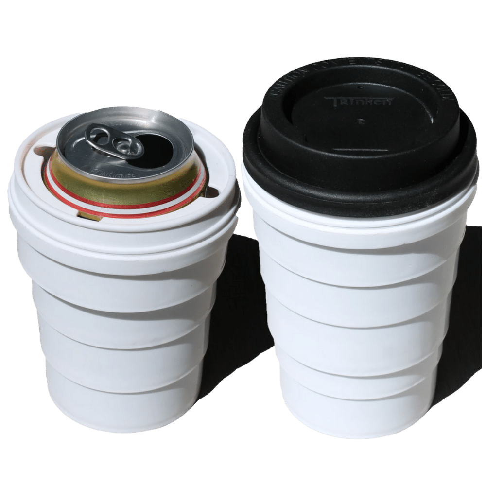 Tinken lid and cup combo