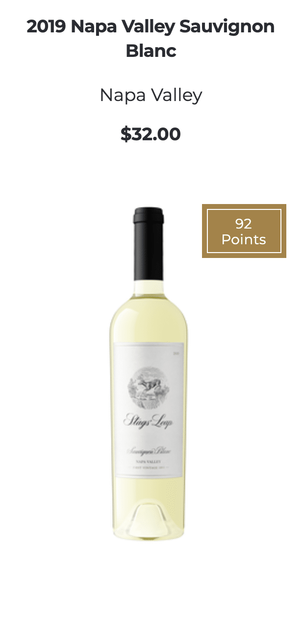 Stags' Leap White