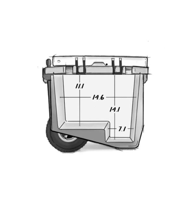 RovR RollR 45 dimensions