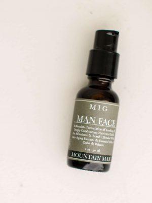 MIG Living Man Face