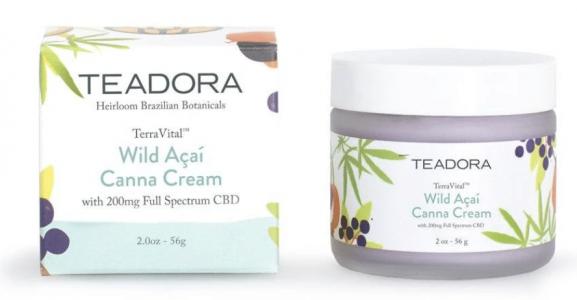 Teadora canna cream