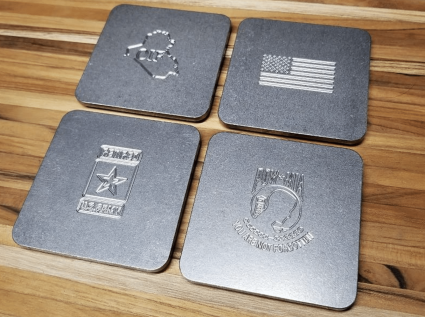 Milspin Custom Coasters