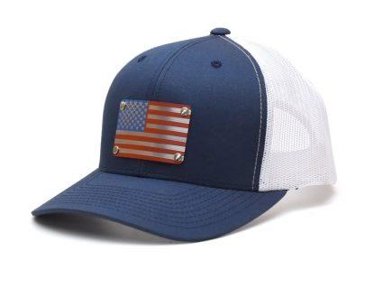 Metal Plate Hat