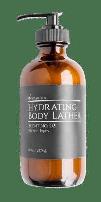 hydrating body lather