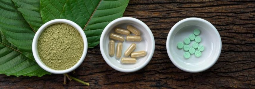 different forms of kratom