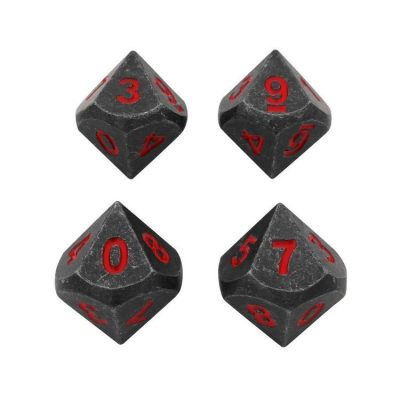 metal-dice-4-pack-of-d10-butcher-s-bill-industrial-gray-with-red-numbers-metal-dice-1_750x
