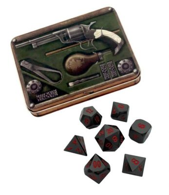 metal-dice-slinger-s-kit-with-smoke-and-fire-shiny-black-nickel-with-red-numbers-metal-dice-1_750x