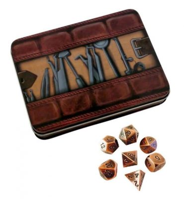 metal-dice-thieves-tools-with-antique-brass-color-with-black-numbers-metal-dice-1_750x